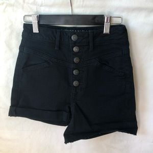 American Eagle Super Stretch Button Up Shorts
